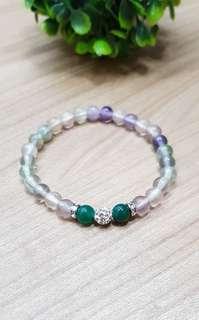 Flourite bracelet