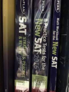 Kaplan SAT books