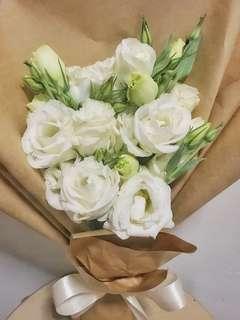 Eustomas Delight    Fresh Flower Floral Bouquet 💐