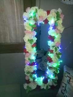 Kaca bunga lampu led