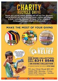 Charity Recycle Drive