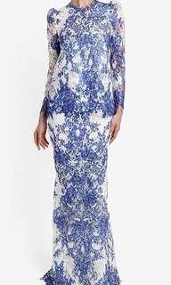 LOOKING FOR: Rizalman Maryem Lace Kurung Size M / UK 8