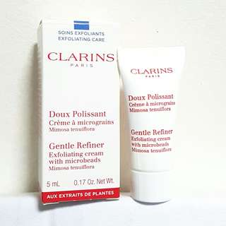 CLARINS Gentle Refiner Exfoliating Cream with Microbeads Mimosa Tenuiflora 5ml
