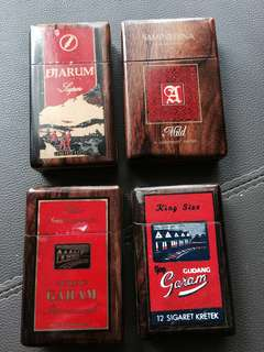 Cigarette Boxes All 4 for the price of 1 #rayaletgo