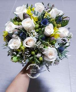"Customise bridal bouquet ""Wild rustic flower"""