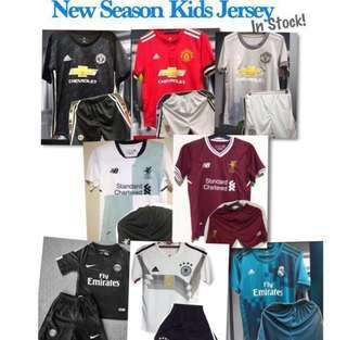 Kids Football Jersey 17/18