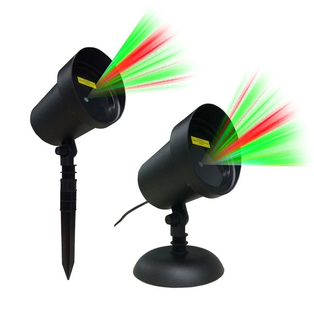 325.CERCHIO Motion Laser Lights Projector for Christmas Decorations ...