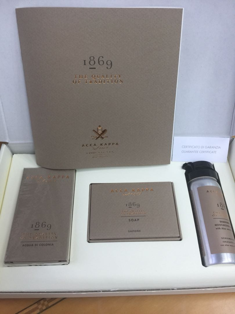 Acca Kappa Travel Set Cologne 30ml Soap Shaving Cream Health Ter Original Lintah Tapa Beauty Mens Grooming On Carousell