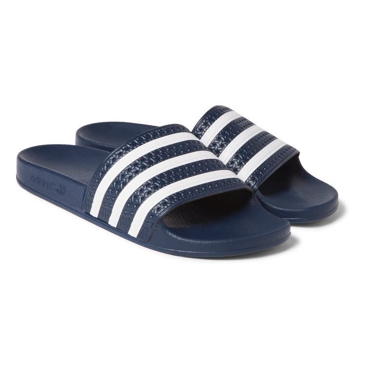 8d9095f0d Adidas Adilette Texture Rubber Slides (101% Authentic)