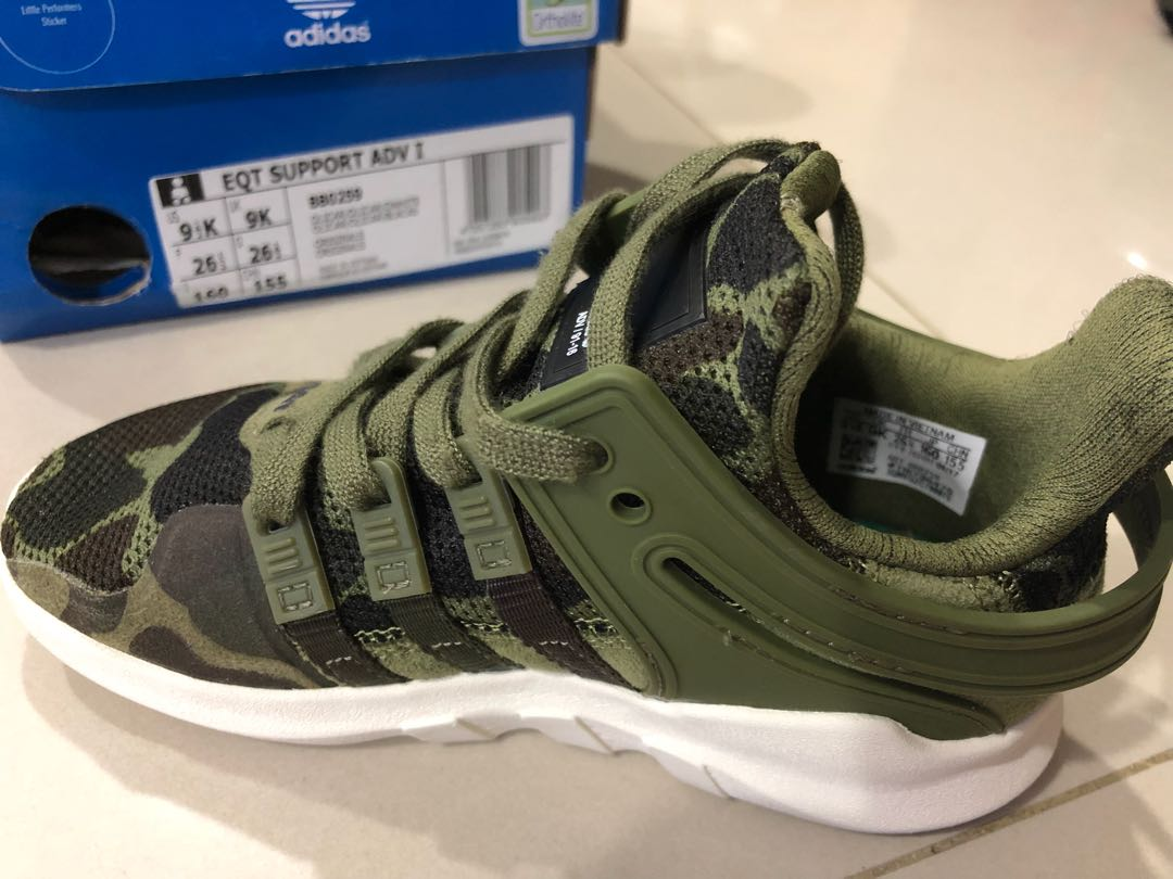 29e807787a07 Adidas Eqt Support Size Toddler US9 1 2