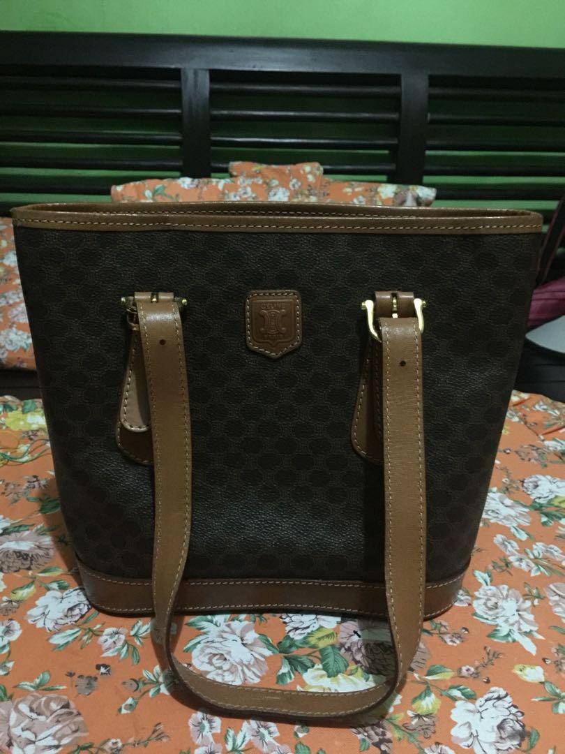Authentic Celine Macadam Tote Bag e1015444909c5