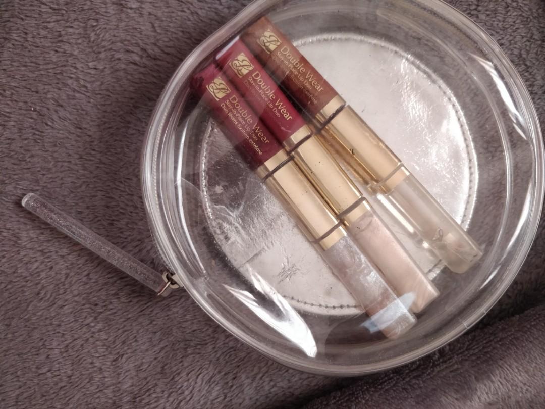 Beautiful Estee Lauder double Wear stay in place lip duo