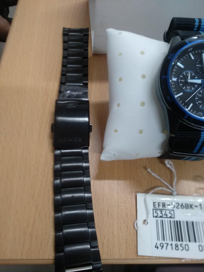 Casio Edifice Original EFR-526BK-1A2