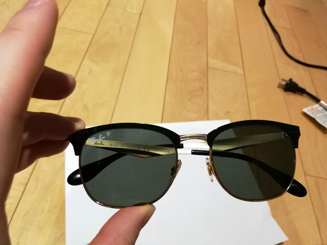 Club masters Ray-Ban sunglasses polarized