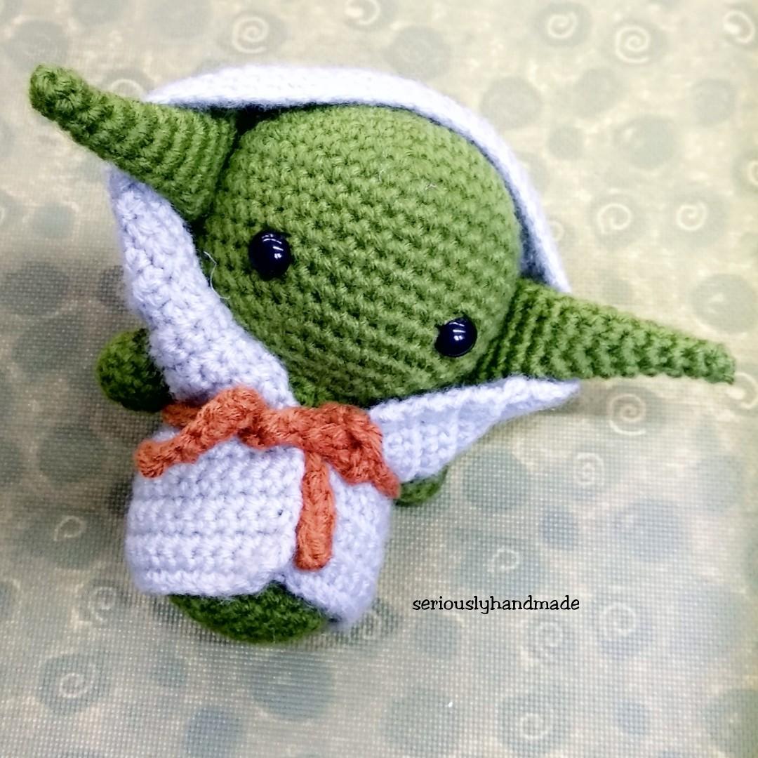 Yoda yedi Star Wars Amigurumi   Patrones amigurumi, Juguetes de ...   1080x1080