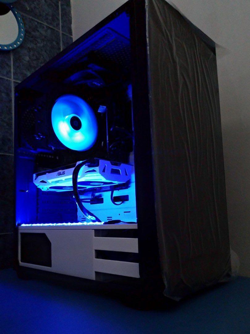 Custom Gaming PC ( 6 cores ! GTX1060 3GB ! High setting