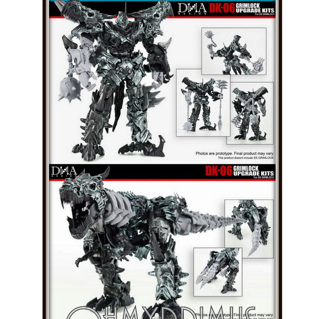 DNA DESIGN DK-06 GRIMLOCK UPGRADE KIT,In stock!