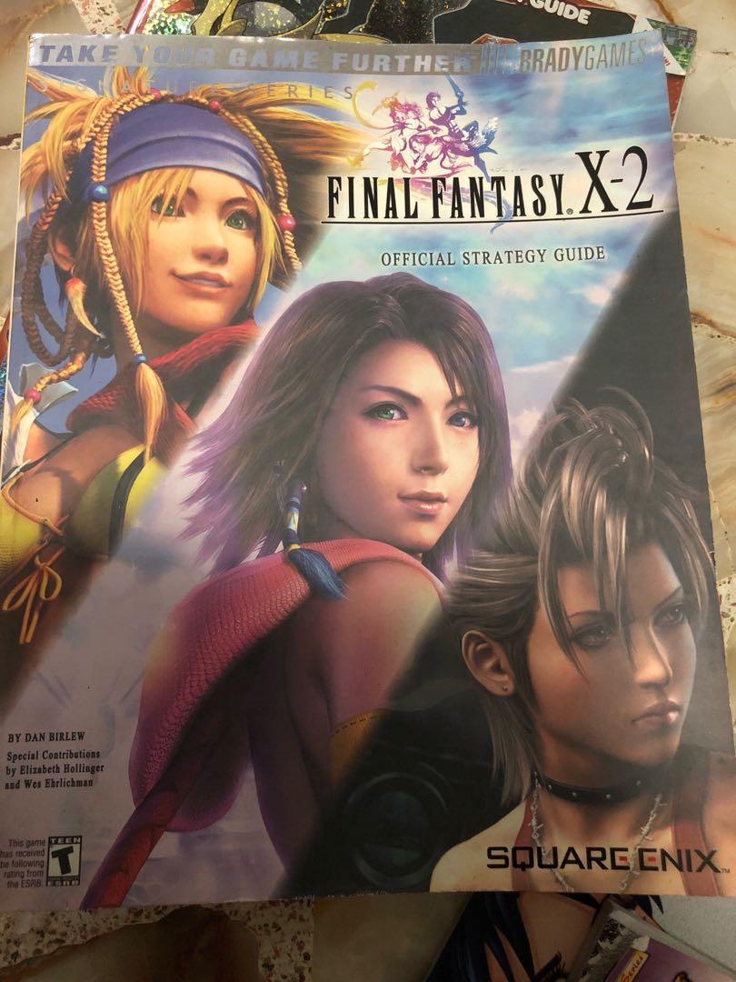 Final fantasy x-8 guidebook. Ffx8