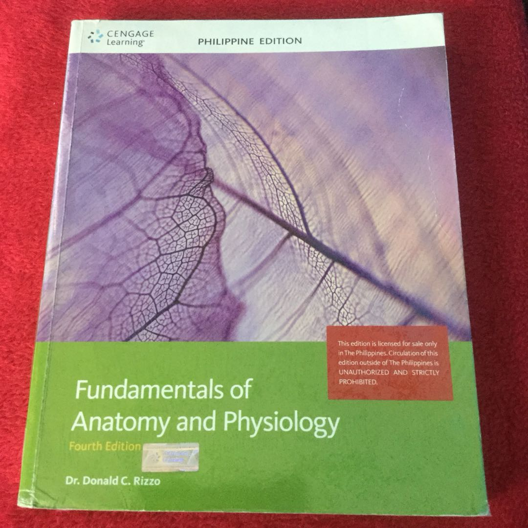 Fundamentals of Anatomy and Physiology, Textbooks on Carousell