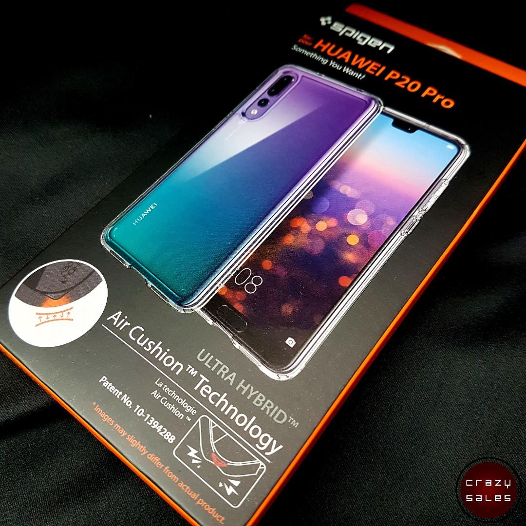 best service eb9b7 9dca5 Huawei P20 Pro Spigen Ultra Hybrid Case Cover