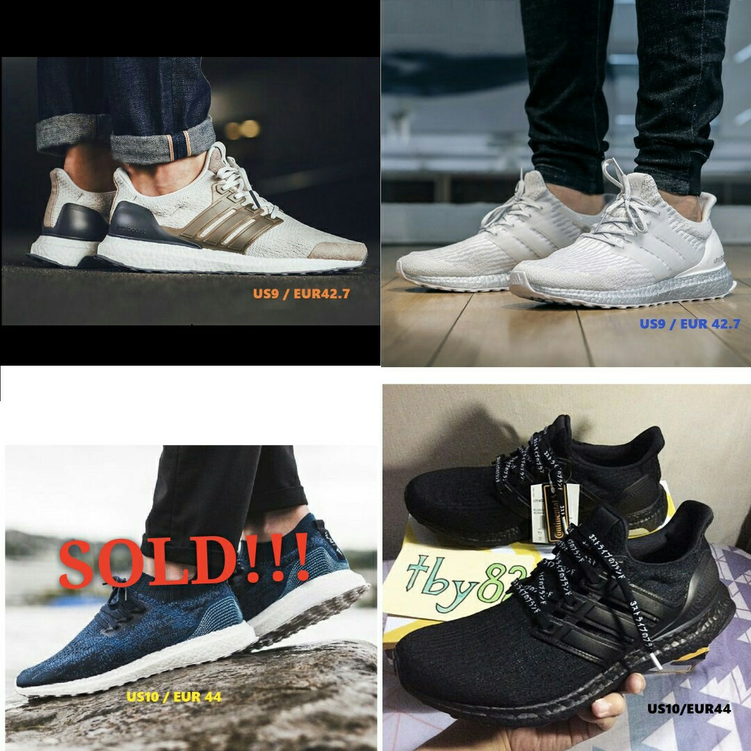 eb3d3a68593 In stocks) Adidas Mens Ultra Boost