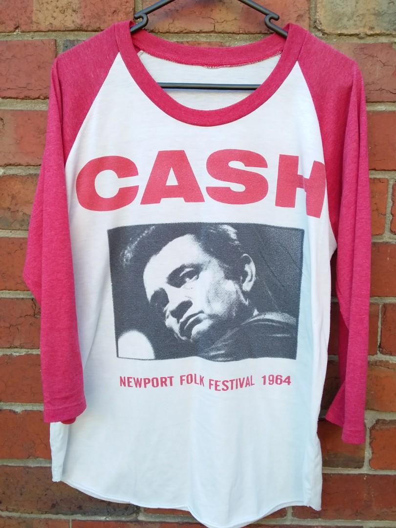 Johnny Cash vintage band tee | Size M