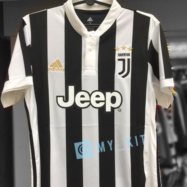 ffdd64ae524 Juventus Home Jersey 17/18, Sports, Sports Apparel on Carousell