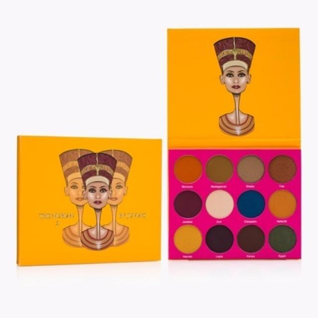 Juvia Place Nubian 2nd Edition Palette (Yellow)