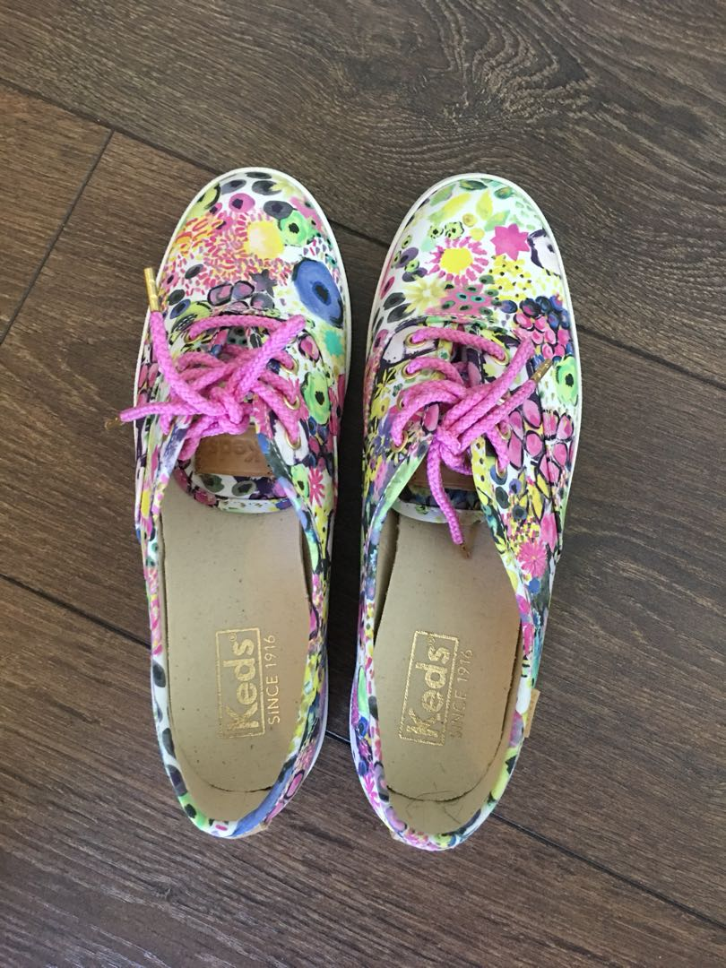 Keds x Liberty of London Floral 6.5 Womens Shoes $20