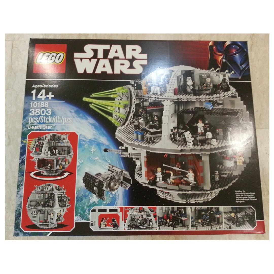 Lego Star Wars Death Star 10188 New Toys Games Bricks