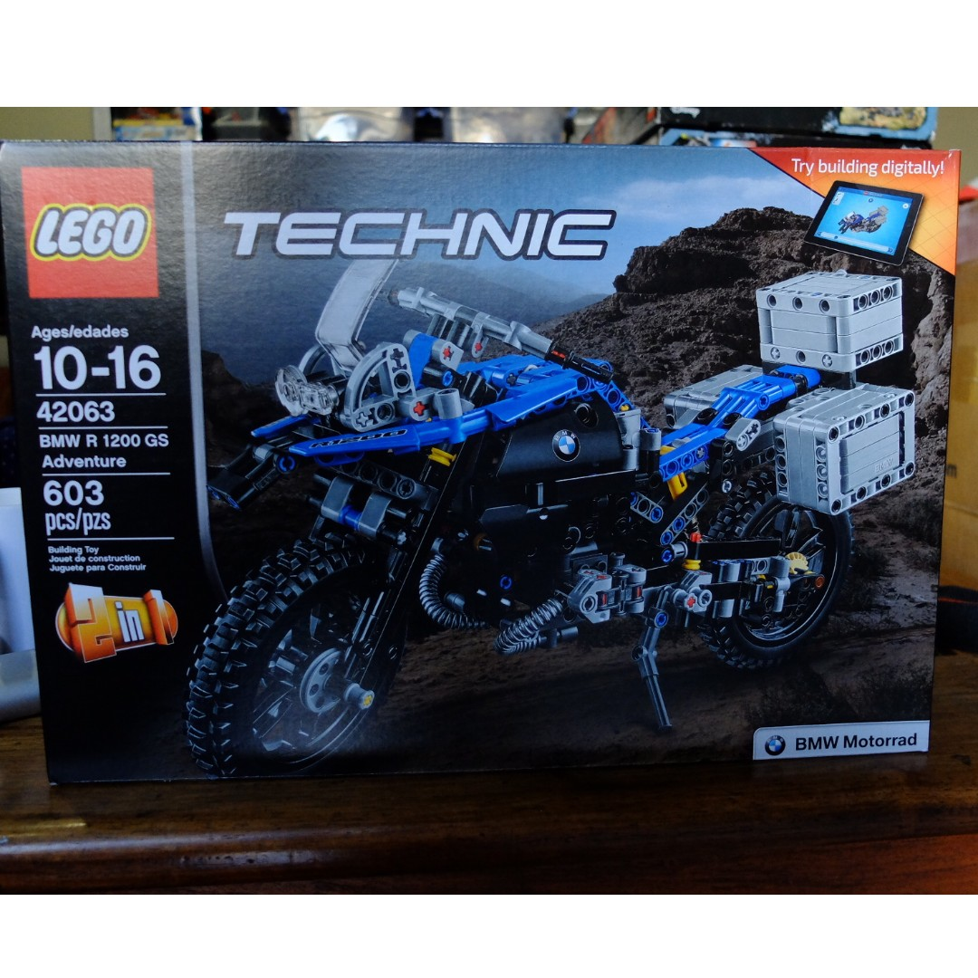 Lego Technic 42063 Bmw R 1200 Gs Adventure Toys Games Toys On