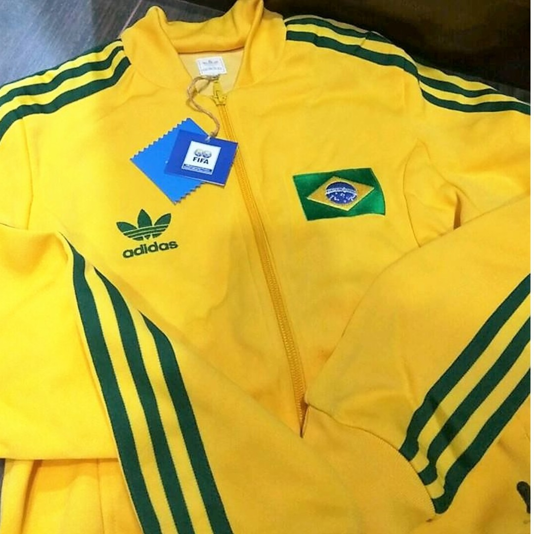 dae9ea040 Limited Edition] Brand New Adidas Brazil 2006 World Cup Jacket ...