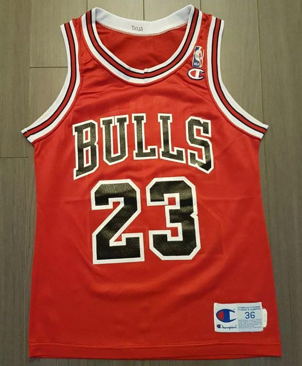 online retailer 5997e fd053 NBA Jersey ( Michael Jordan champion jersey size 36 Small ...