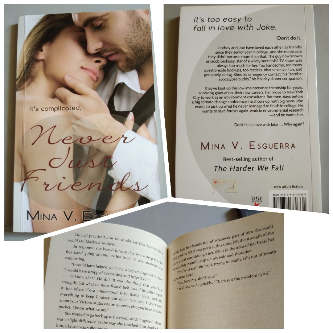 Never Just Friends By Mina Esguerra Books On Carousell
