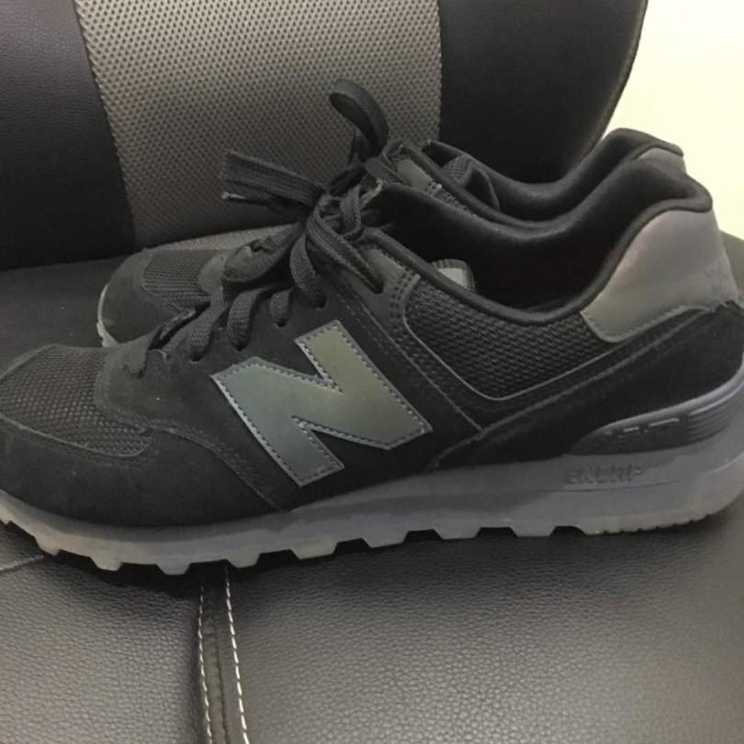 separation shoes 8af25 d0590 New Balance 574 Reengineered Black Grey