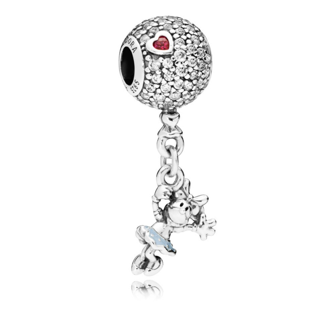 13df191a72246 Pandora Disney Floating Minnie Hanging Charm