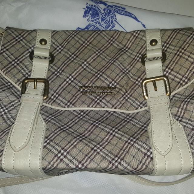 fdb3bd5e6426 PRICE REDUCED Burberry Blue Label Sling Bag