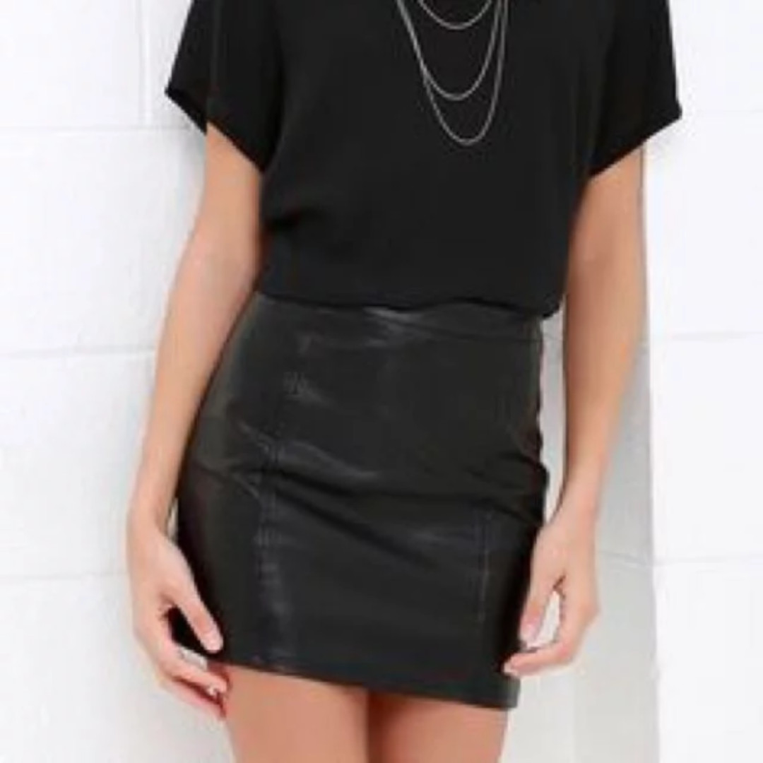 36708ed86 Primark Atmosphere Faux Leather Skirt, Women's Fashion, Clothes, Dresses &  Skirts on Carousell
