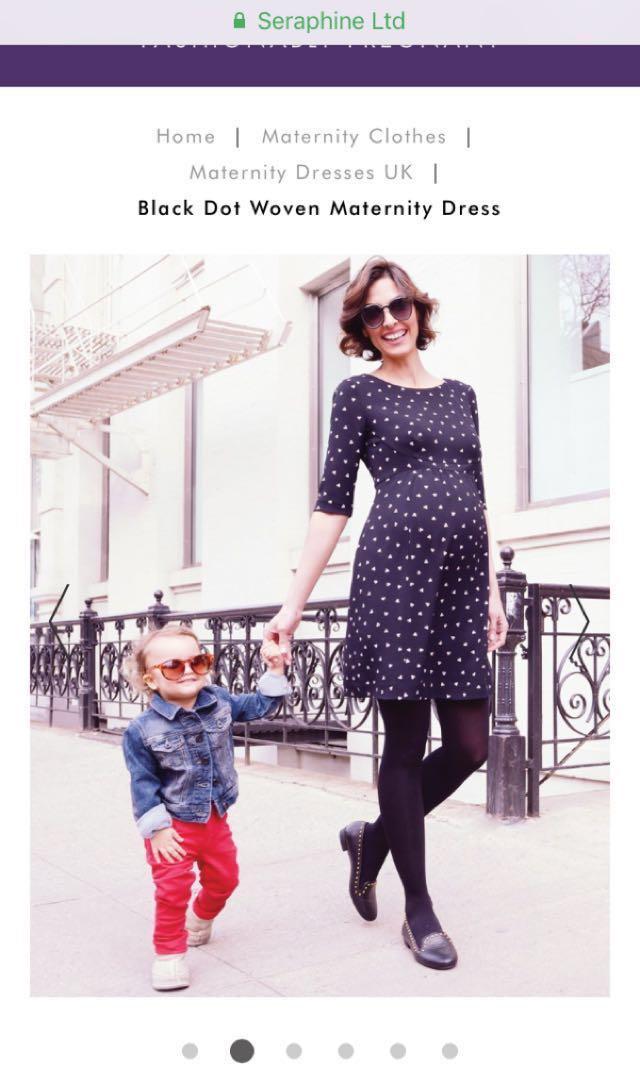 243914b3e862f Seraphine maternity dress uk size 10, Babies & Kids, Maternity on ...