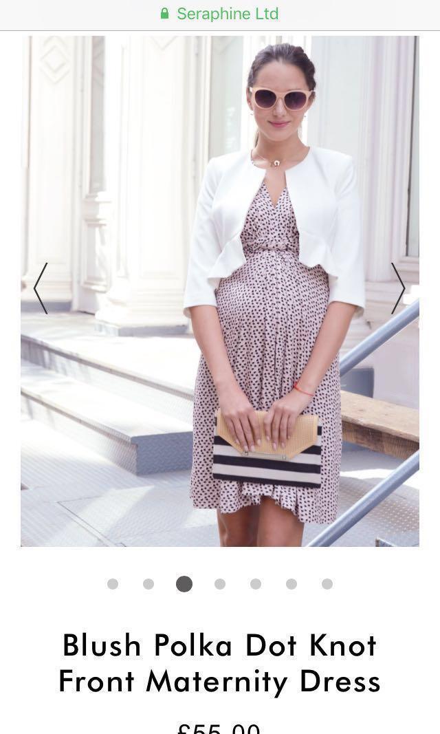 24b34ff9a9120 seraphine maternity dresses UK size 10, Babies & Kids, Maternity on ...