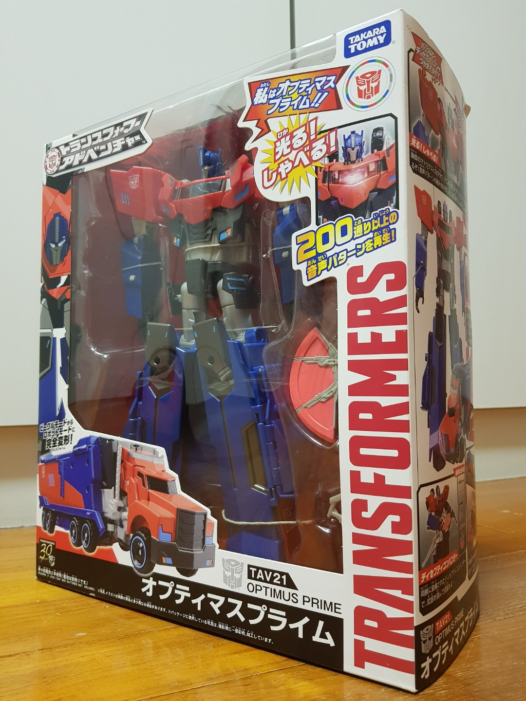 Takara Tomy Transformers Adventure TAV21 Optimus Prime Action Figure New