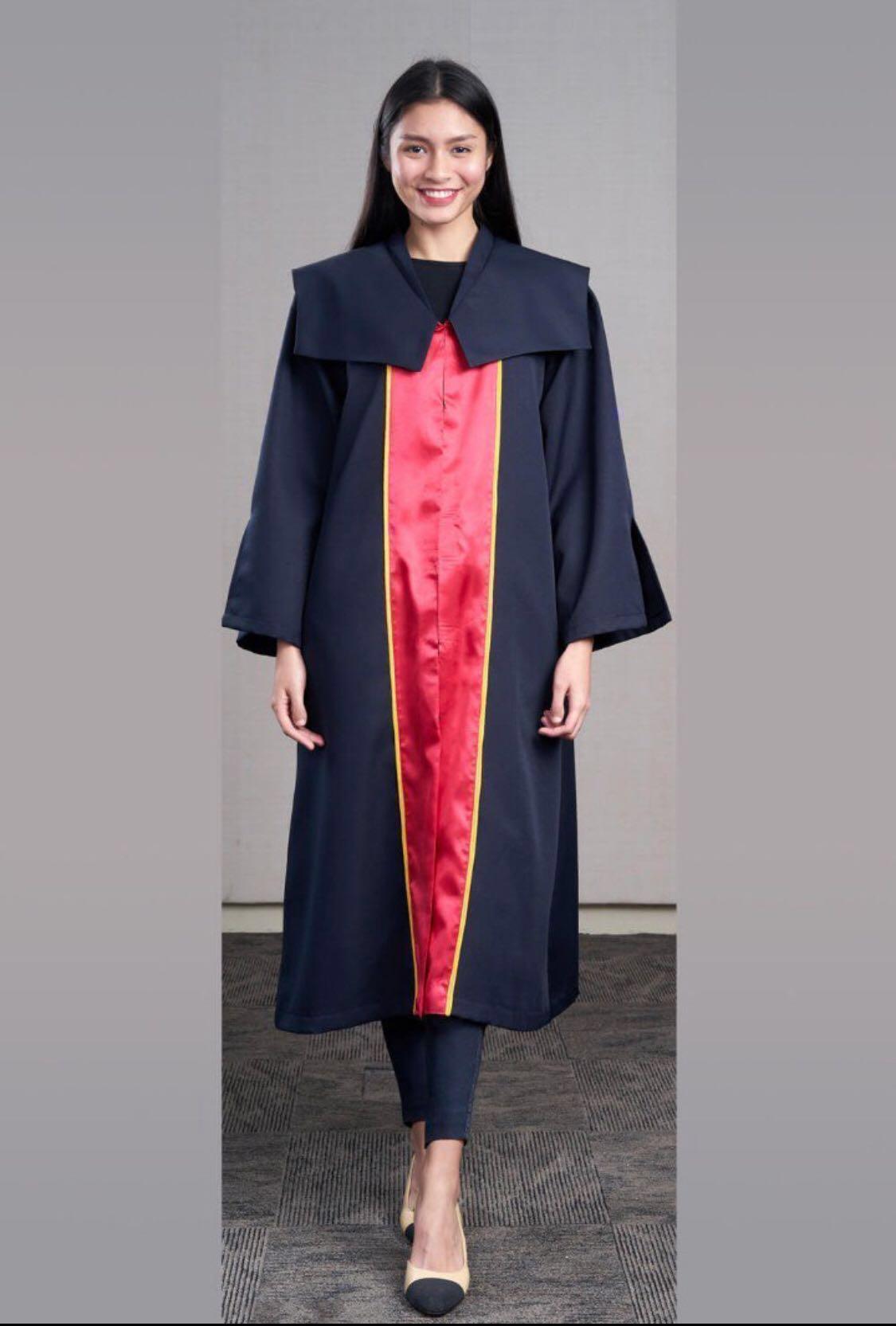 87894d060ec Temasek Poly (TP) Graduation Gown Size M