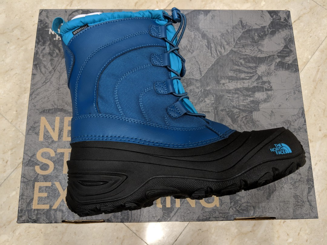 633daa7e5 The North Face Alpenglow IV (winter boots for boys), Babies & Kids ...