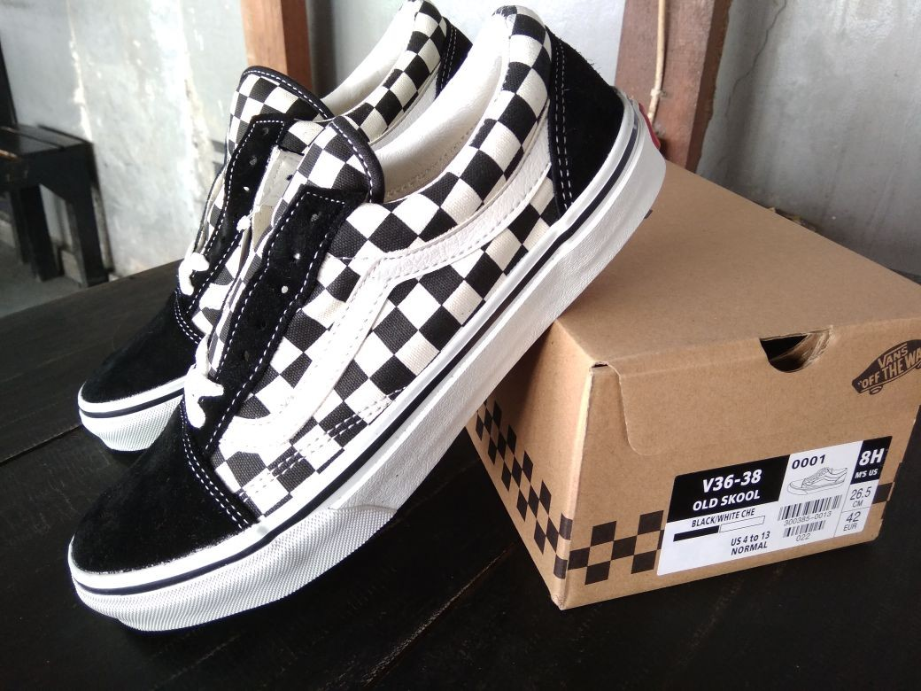 a8bfa535e4 Vans Old Skool Checkerboard Japan Market Original