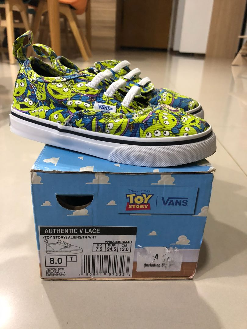 75df38b3b7 Vans Toy Story Shoes Size Toddler US8