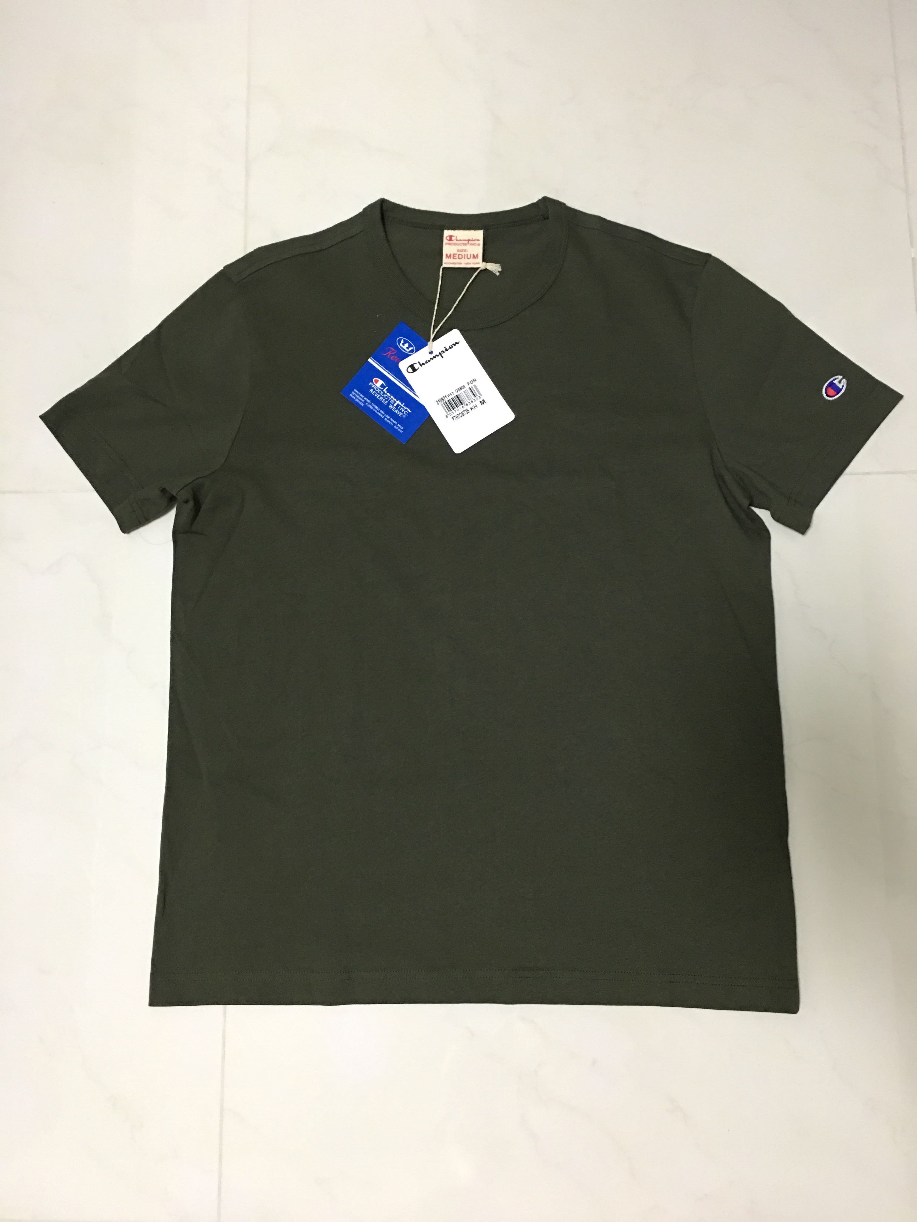 77da8ad00 WTS Champion Reverse Weave Tee, Men's Fashion, Clothes on Carousell