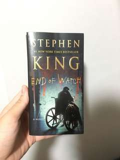 Stephen King- End Of Watch