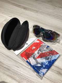 Sports Sunglasses 運動太陽眼鏡 🕶️ 黑色 幻彩鏡