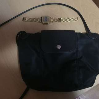 Long Champ Sling Bag