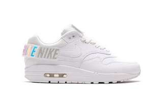 Air Max 1-100 WHT/WHT Heels Velcro New Release